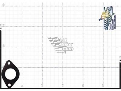 Термокольцо между впускн. колектором и карбюратором 24мм  фото 7