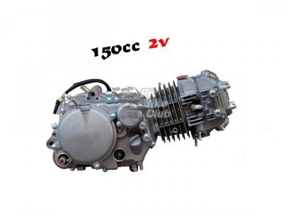 Двигатель YX 150см3 в сборе, кикстартер 1P56FMJ (W150-5) фото 5