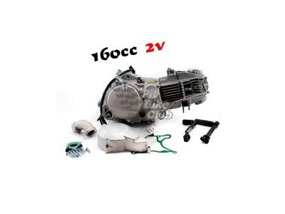 Двигатель YX 160см3 в сборе, кикстартер 1P60FMK (W160-2) фото 5