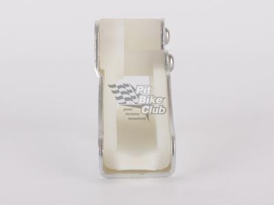 Ловушка цепи алюминиевая серебрянная фото 1