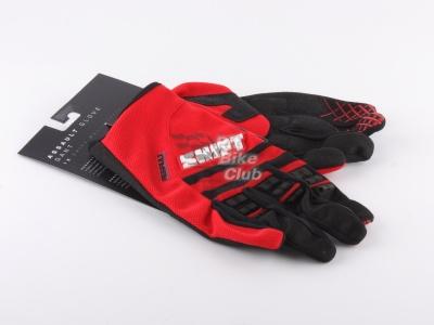 Shift Racing Assault Race 2015 мотоперчатки, красный (2XL) фото 1