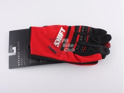 Shift Racing Assault Race 2015 мотоперчатки, красный (2XL) фото 7