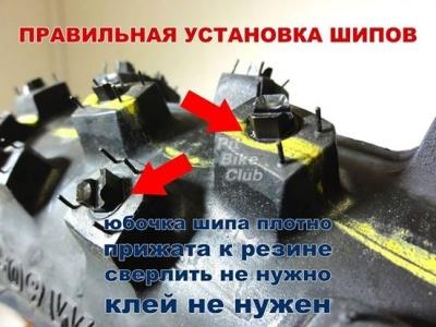 """Шипы зимние передние KOLD KUTTER 3/8"""" (9,5мм) 100шт фото 3"""