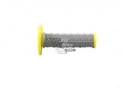 One Industries Gamma Low Profile грипсы на руль, желтый фото 3