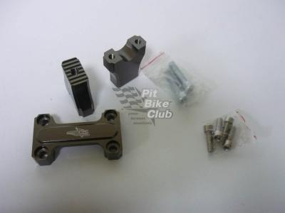 Стойка руля CNC титановая 22 мм фото 1