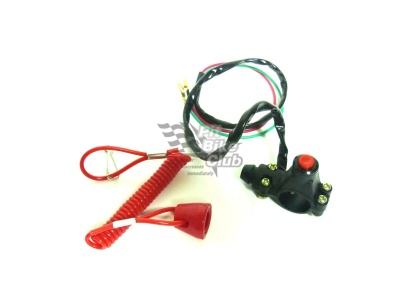 Аварийный выключатель двигателя (чека) фото 1