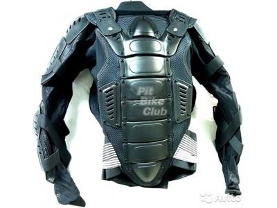 Куртка защитная (черепаха) Dark Knight Черная (Размер XL) MICHIRU фото 1
