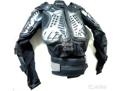 Куртка защитная (черепаха) Dark Knight Черная (Размер XL) MICHIRU фото 3
