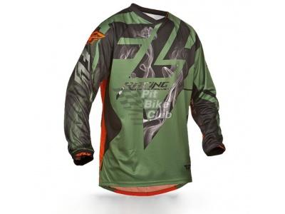 Джерси для мотокросса FLY RACING LITE HYDROGEN оранжевая/серая (2015) S фото 1