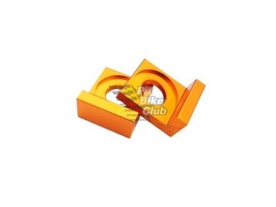 Натяжители цепи 15мм CNC золотые фото 1