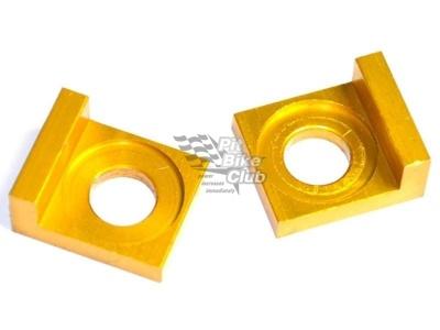 Натяжители цепи 15мм CNC золотые фото 3