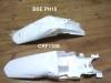 Крыло заднее белое  CRF110S  превью 3