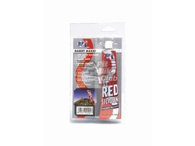 Герметик силиконовый высокотемпературный,красный, 85 мл фото 1