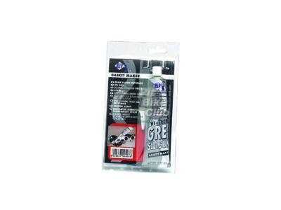 Герметик силиконовый высокотемпературный,серый, 85 мл фото 1