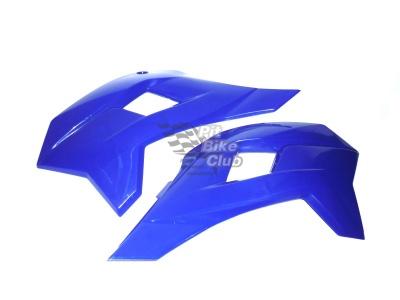 Боковые обтекатели передние (пара) KAYO KRZ синие фото 1