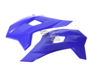 Боковые обтекатели передние (пара) KAYO KRZ синие фото 3
