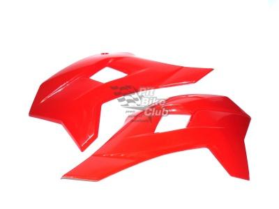 Боковые обтекатели передние (пара) KAYO KRZ красные фото 1