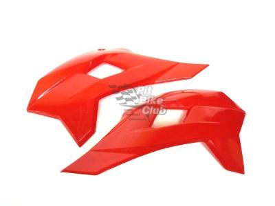 Боковые обтекатели передние (пара) KAYO KRZ красные фото 3