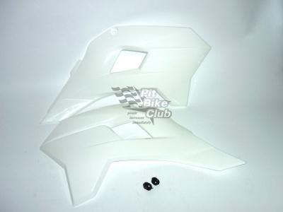 Боковые обтекатели передние (пара) KAYO KRZ белые фото 1