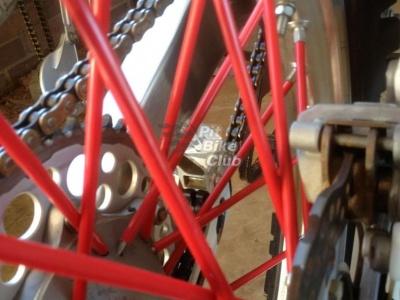 Трубки для спиц 35шт красные фото 1