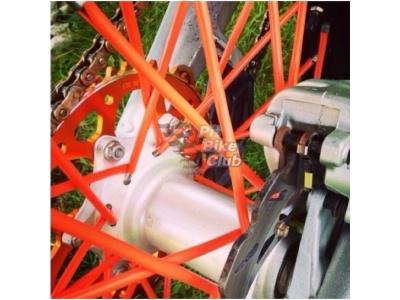 Трубки для спиц 35шт оранжевые фото 1