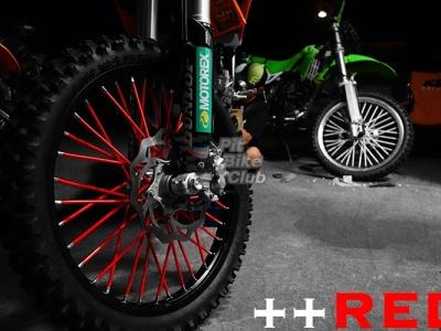 Трубки для спиц 35шт красные фото 7