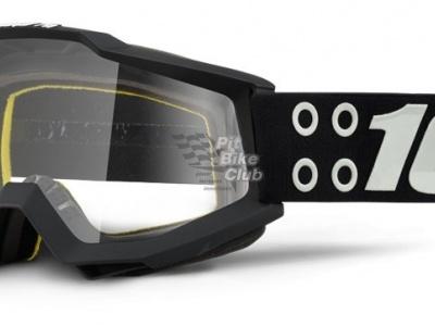 Очки 100% Accuri Defcon1 / Clear Lens (50200-174-02) фото 1