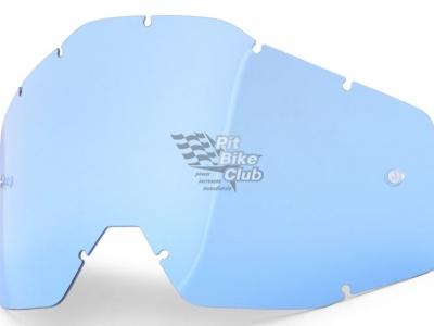 Линза 100% Racecraft/Accuri/Strata AntiFog, синий фото 1