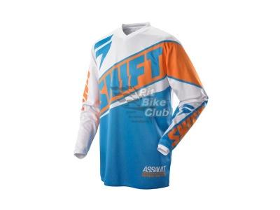 Мотоджерси Shift Assault Race Jersey Orange/Blue M (07244-592-M) фото 1