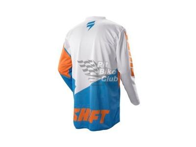 Мотоджерси Shift Assault Race Jersey Orange/Blue M (07244-592-M) фото 3