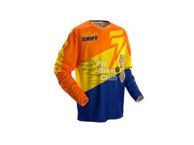 Мотоджерси Shift Faction Slate Jersey Orange/Blue L (07240-592-L) фото 1