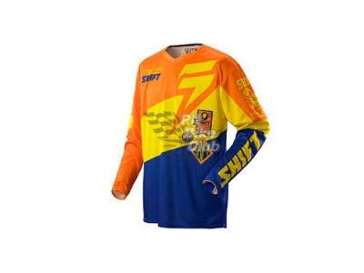 Мотоджерси Shift Faction Slate Jersey Orange/Blue L (07240-592-L) фото 3