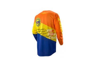 Мотоджерси Shift Faction Slate Jersey Orange/Blue L (07240-592-L) фото 5