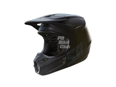 Мотошлем Shift V1 Assault Race Helmet Matte Black L (16109-255-L) фото 1