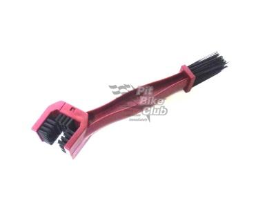 Щётка для чистки цепи с пластмасс. ручкой  фото 1