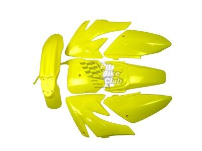 Пластик CRF70 желтый комплект фото 5