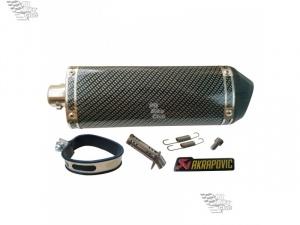 Глушитель KTM AKRAPOVIC отделка под карбон