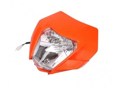 Фара галогенная оранжевая KTM Replica фото 3