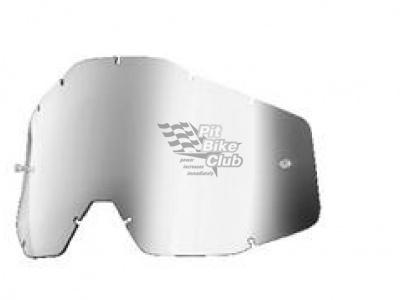 Линза 100% Racecraft/Accuri/Strata Anti-Fog Silver Mirror (51002-008-02) фото 1