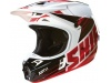 Мотошлем Shift V1 Assault Race Helmet Black/White M (16109-018-M) превью 3