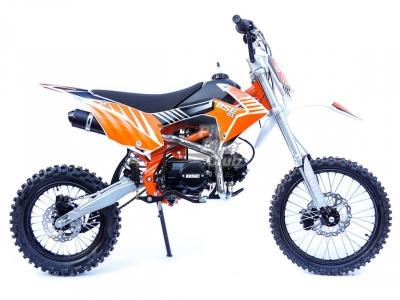 ПИТБАЙК BSE  MX 125 14/17 оранжевый фото 1