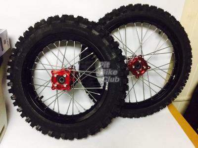 Комплект колес КРОСС 14-17 CNC в сборе с резиной фото 1
