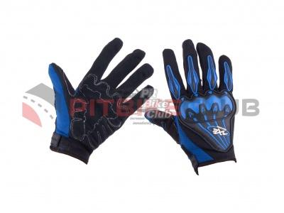 Перчатки AXE RACING (size:L, синие) (mod:1) фото 1