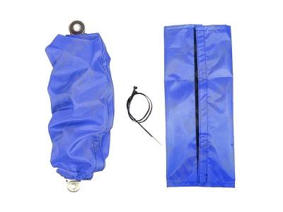 Чехлы для амортизаторов универсальные (цв. синий) (L=250-350mm; d<90mm) фото 1