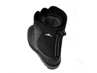 Nordman Kraft Сапоги мужские комбинированные на основе галош из ТЭП, на шнурках размер 45 фото 5