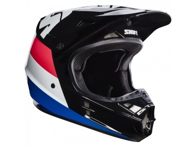 Мотошлем Shift White Tarmac Helmet Black L (17232-001-L) фото 1