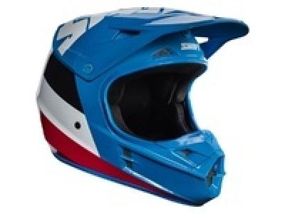 Мотошлем Shift White Tarmac Helmet Blue S (17232-002-S) фото 1