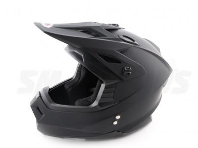 Шлем (кроссовый) Ataki MX801 Solid черный матовый XL фото 7