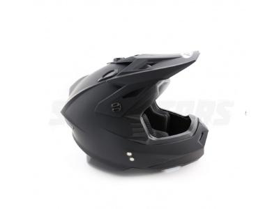 Шлем (кроссовый) Ataki MX801 Solid черный матовый XL фото 5