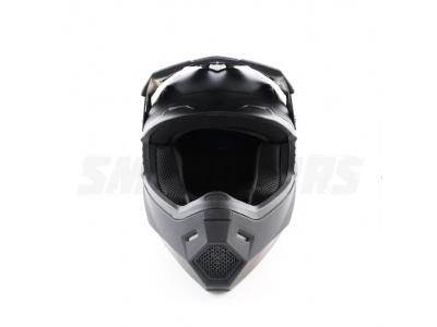 Шлем (кроссовый) Ataki MX801 Solid черный матовый XL фото 3